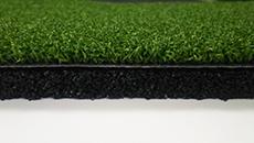 高密度人工芝+再生ゴムチップ