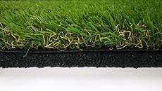 景観用人工芝+再生ゴムチップ